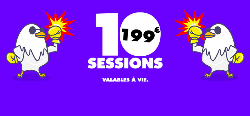 Promo 10 sessions