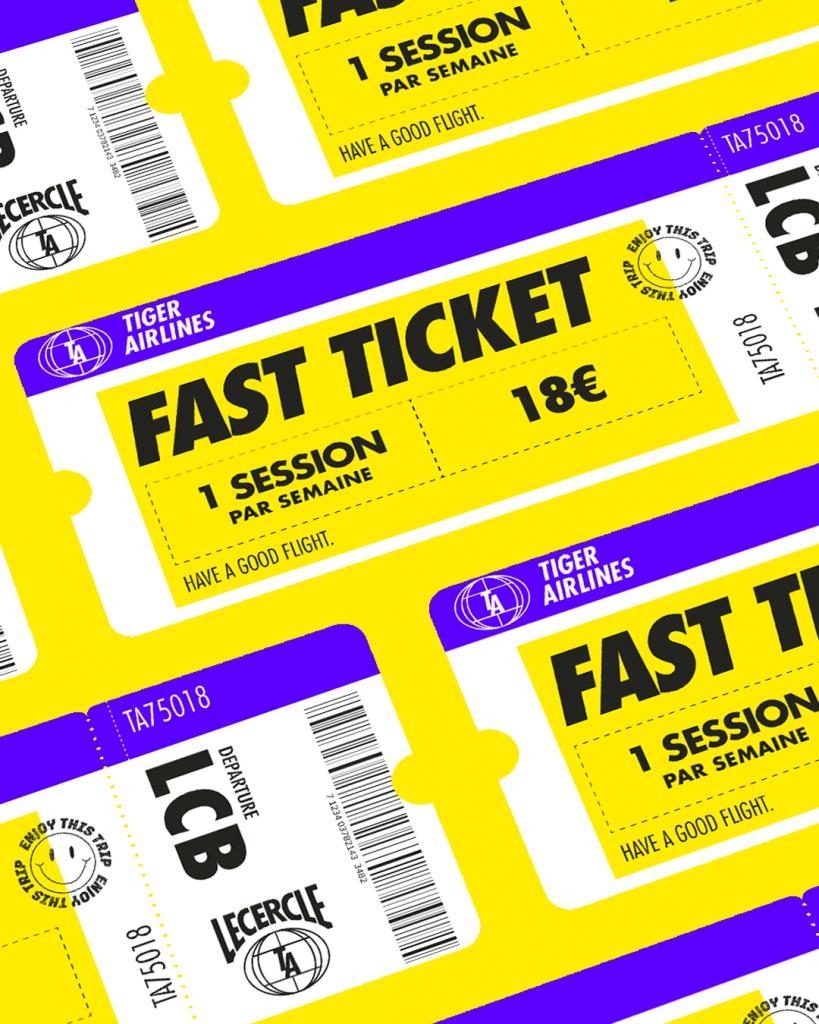 fast ticket - Le Cercle Boxing Paris